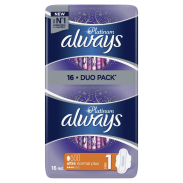 Always Podpaski Platinum Normal 16 Sztuk