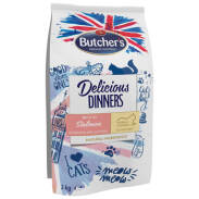 Butcher's Delicious Dinners Cat Dry Salmon/Fish 2kg