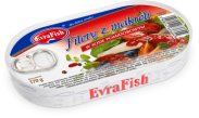 Evra Fish Filet Makrela w Pomidorach 170g
