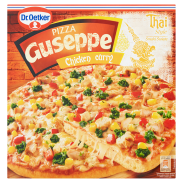 Dr Oetker Guseppe Smaki Świata Pizza Chicken curry 375 g