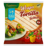 Develey Tortilla Grillowana 250g/4 Sztuki X25cm