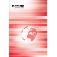 Brulion Office Products, A5, w linie, 96 kart, 55gsm
